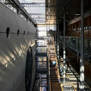 Programmation architecturale pour l'intégration de la médiathèque Fellini dans la médiathèque Emile Zola à Montpellier