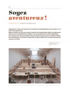 thumbnail of Soyons aventureux