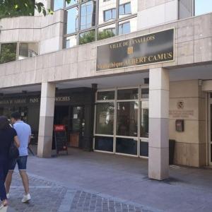 Restructuration de la médiathèque Albert Camus à Levallois