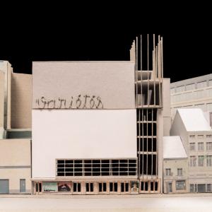 Mission de définition, faisabilité et programmation architecturale du Théâtre des Variétés pour l'ASBL Bruxelles Laïque – Laboratoire pour la création artistique