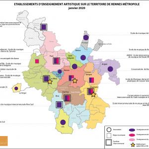 Etude de faisabilité portant sur le transfert de la compétence Enseignements artistique dans les domaines de la musique et de la danse pour Rennes-Métropole