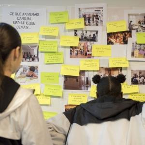 Accompagnement pour l'élaboration du projet scientifique et culturel des médiathèques de Champigny-sur-Marne