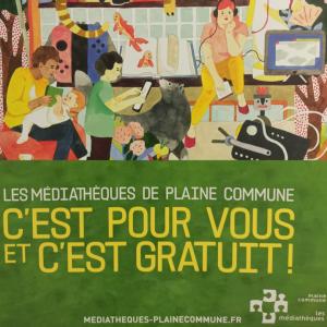 Mission d'accompagnement à un état des lieux participatif et prospectif du réseau de lecture publique de Plaine Commune